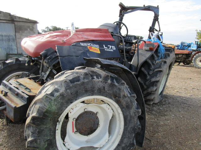 TRACTEUR NEW HOLLAND L754