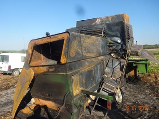 MOISSONNEUSE BATTEUSE JOHN DEERE 1177H