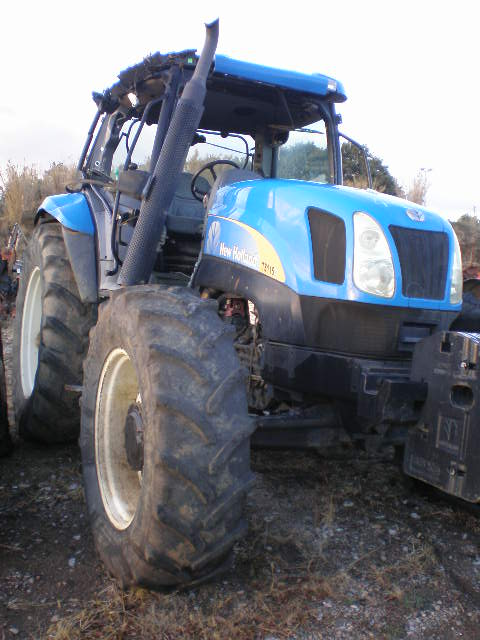 TRACTEUR NEW HOLLAND TSA 115
