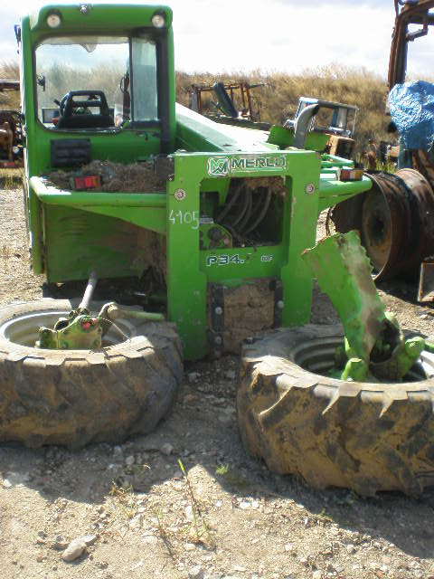 TRACTEUR TELESCOPIQUE MERLO T34-7 TOP