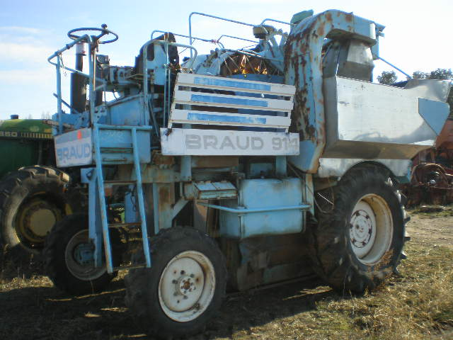 MACHINE A VENDANGER BRAUD 914