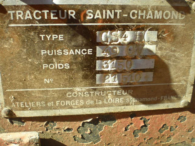 CHENILLARD SAINT CHAMOND CS4E